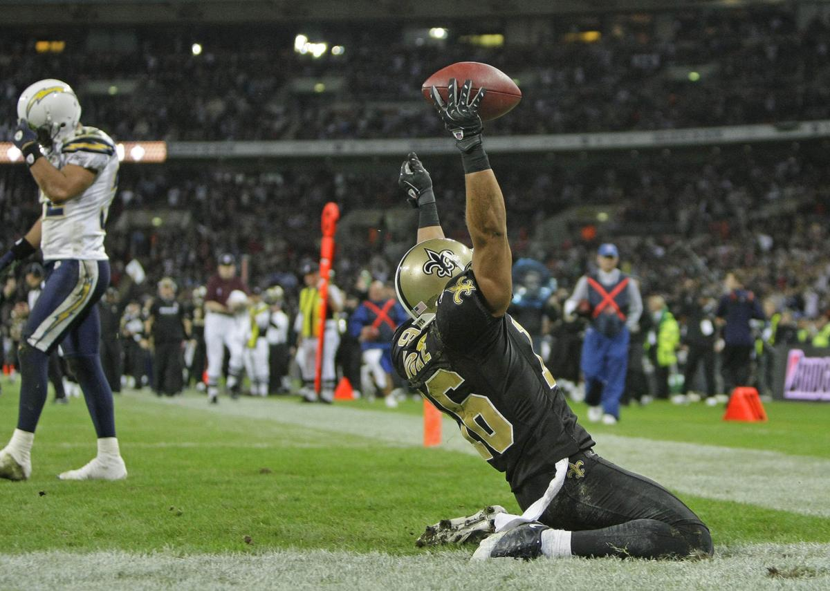 Britain Chargers Saints Football