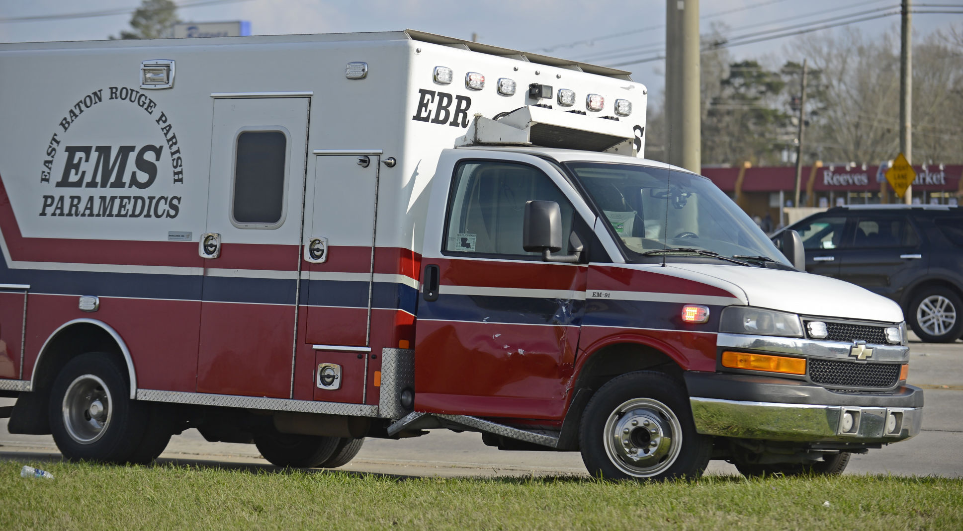 Baton Rouge ambulance