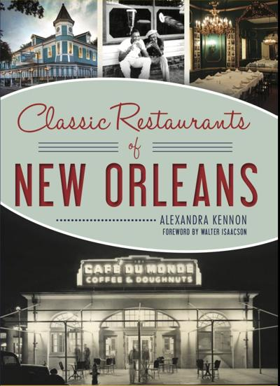 Classic restaurants of new orleans cover