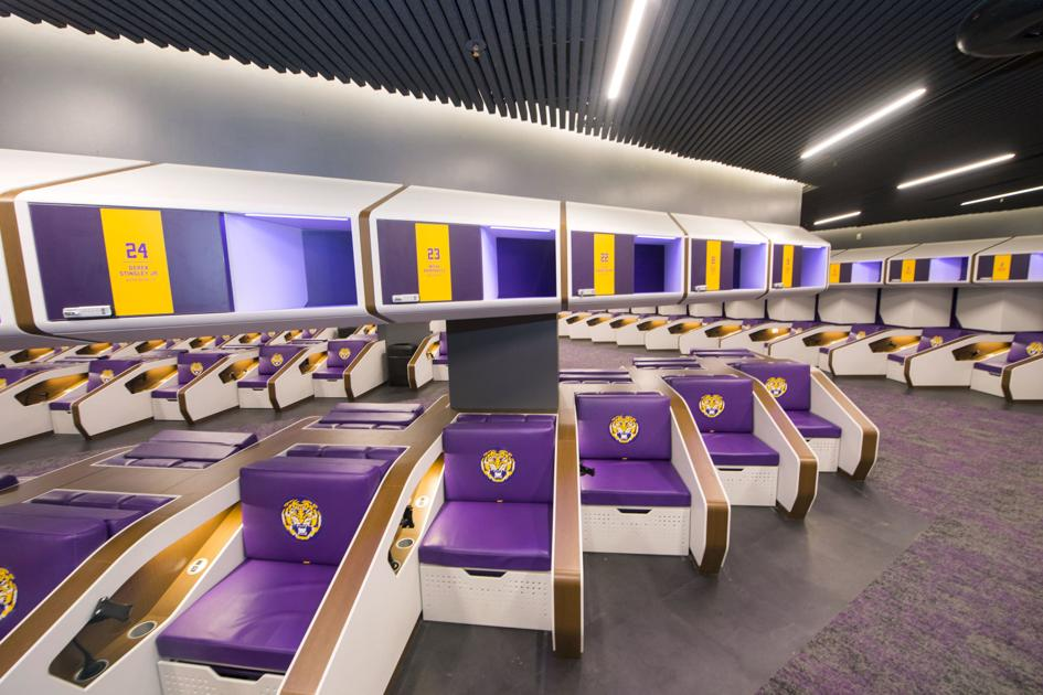 LSU opens up new $28 million football operations building ...