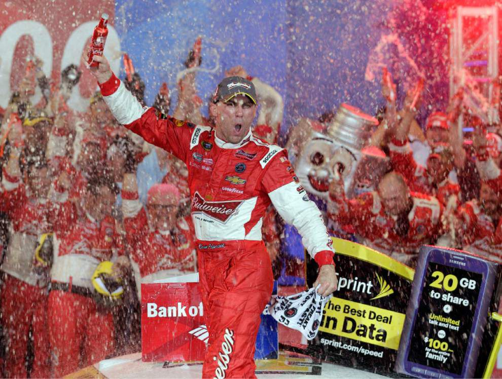 Talladega tense place for many, but not Kevin Harvick _lowres