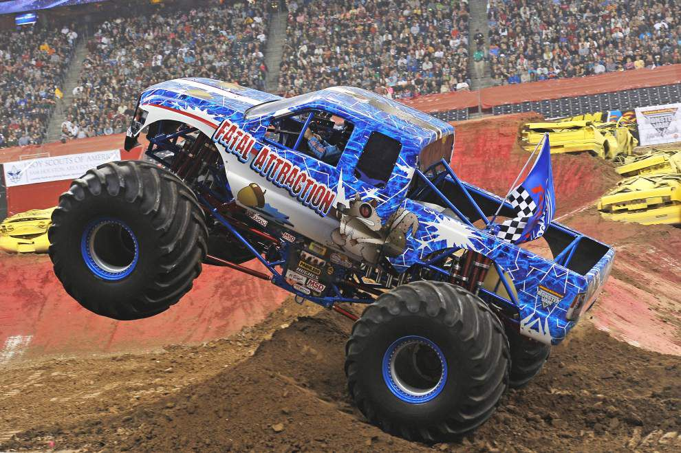 La. monster truck driver Jeff Murphy talks about life on the circuit _lowres