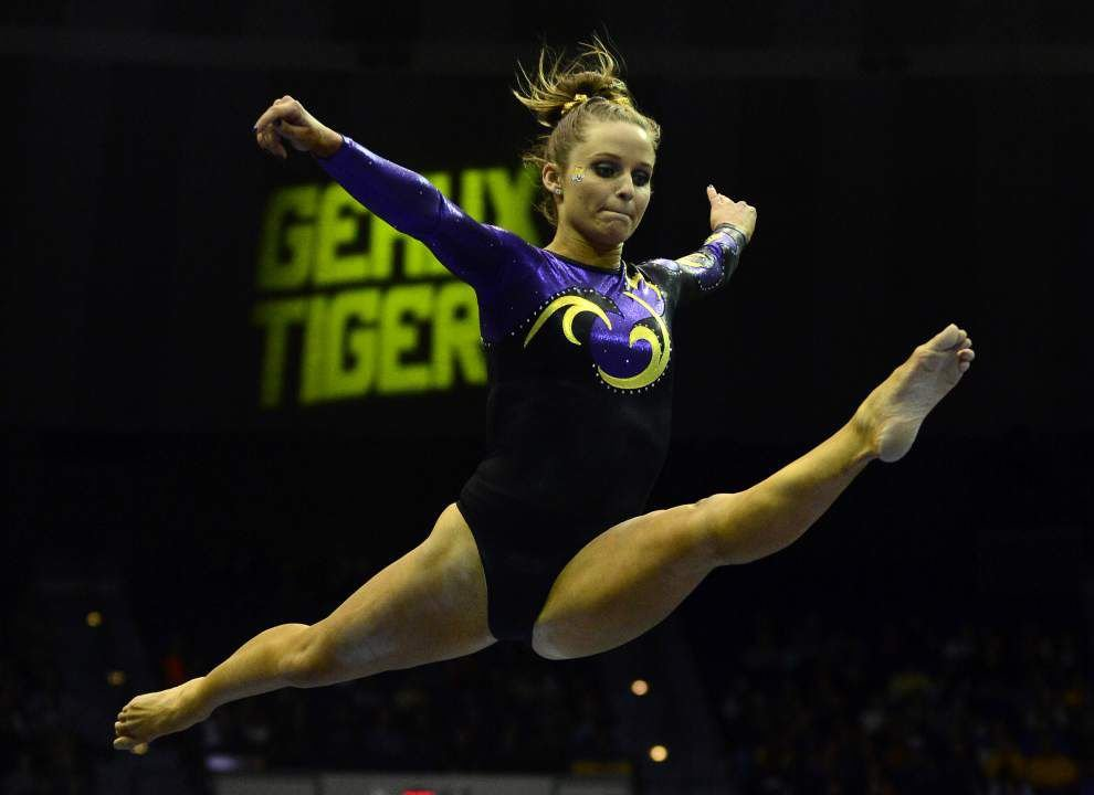 LSU gymnastics team No. 1 in GymInfo rankings _lowres