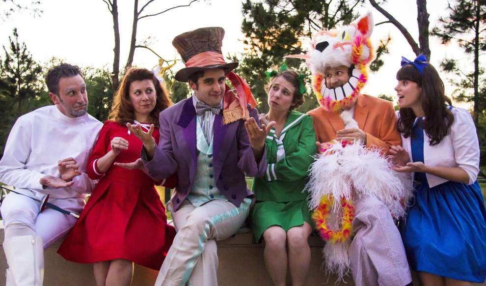 Audiences pick their rabbit hole in Sculpture Garden's 'Wonderland' _lowres
