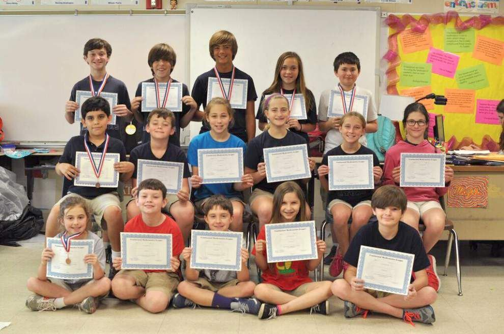 Tchefuncte Middle School students hone math skills through competition _lowres