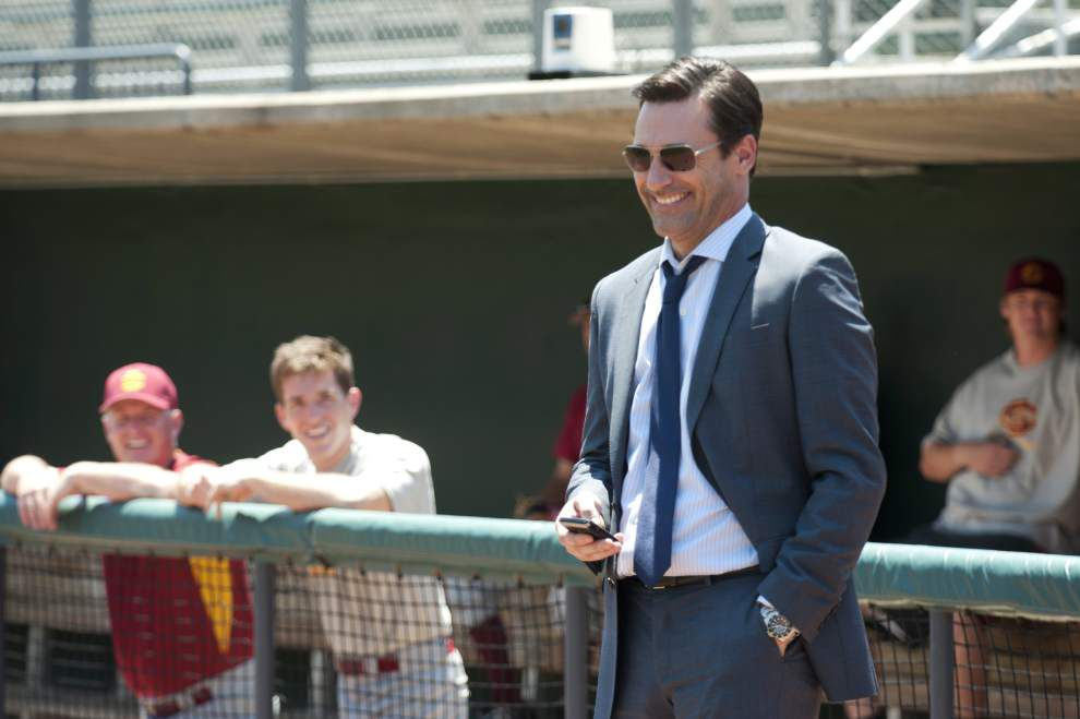 Jon Hamm goes wholesome as a sports agent in 'Arm' _lowres