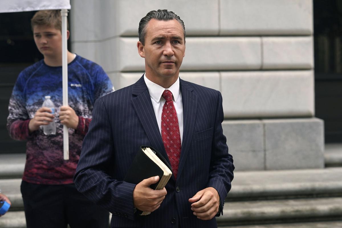 Virus Outbreak Pastor's Lawsuit