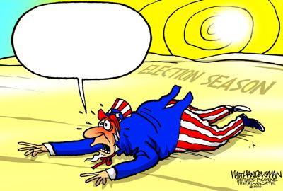 Who's gonna write the hottest punchline in Walt Handelsman's newest Cartoon Caption Contest?!