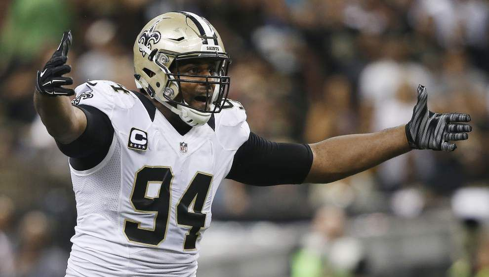 'Whatever it takes': Cam Jordan returns to action following offseason back surgery _lowres