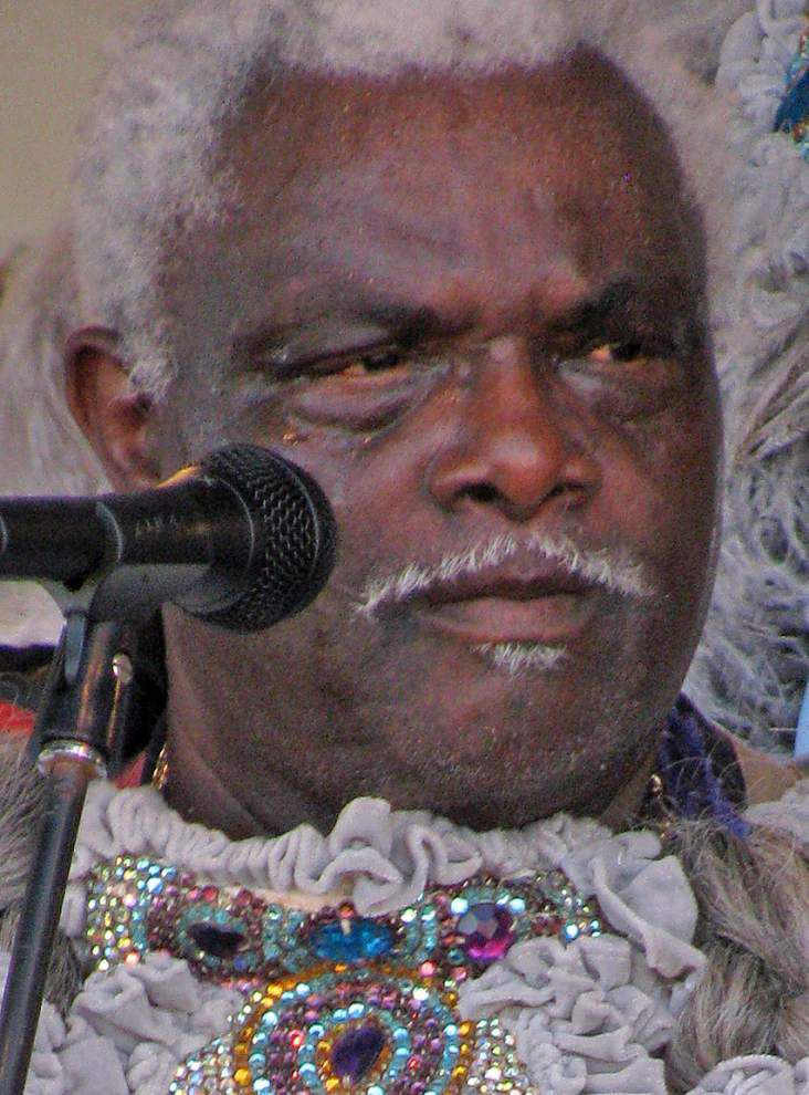 Larry Bannock, Big Chief of the Golden Star Hunters Mardi Gras Indian tribe, dies _lowres