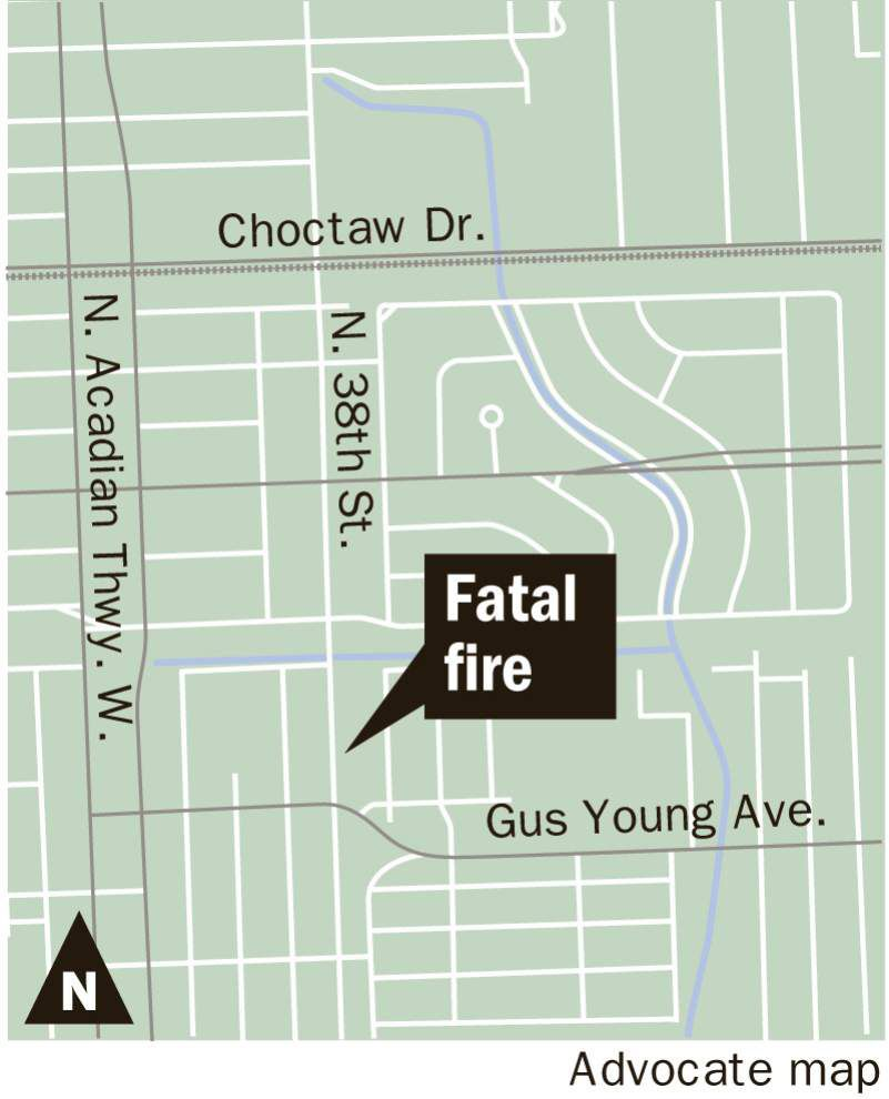 Latest: 20-, 95-year-old men killed in house fire near Gus Young Park in Baton Rouge early Friday morning _lowres