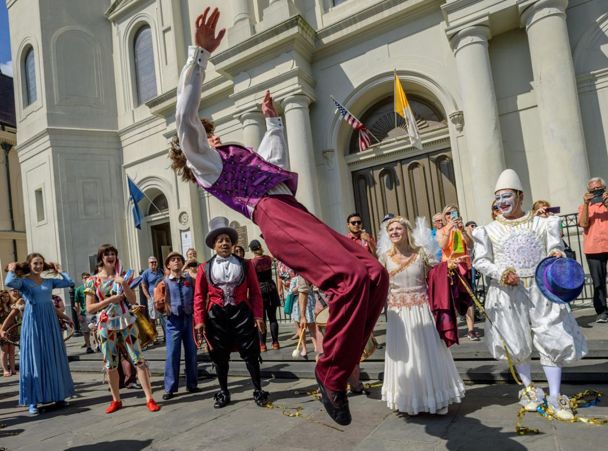 Cirque de Soliel Jackson Square for Red