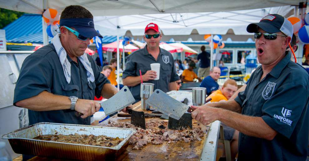 How Hogs for the Cause cook-off teams have grown into year-round fundraising machines _lowres