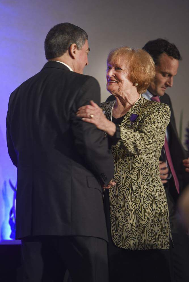 Mavis Arnaud Frugé honored by French government for her work in making Arnaudville a French cultural hub _lowres