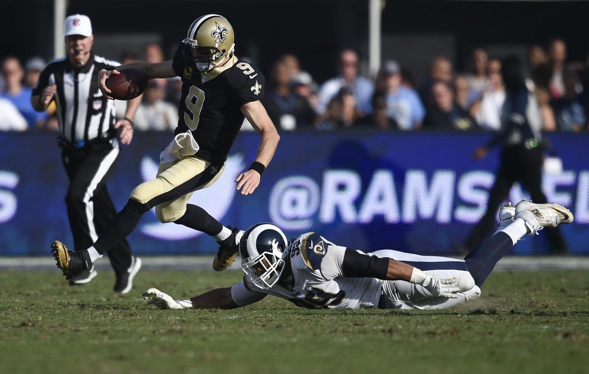 Saints Rams Football