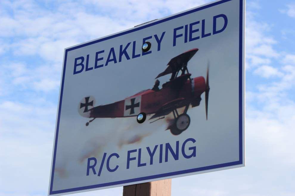 Little Blue Yonder: Radio control airplane junkies love taking to the skies _lowres