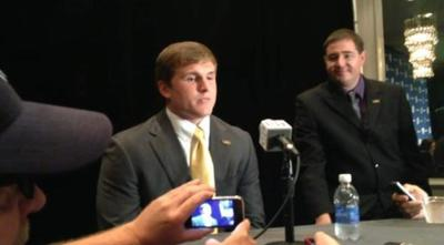 Video: LSU's D.J. Welter provides look at the Tigers' linebackers _lowres