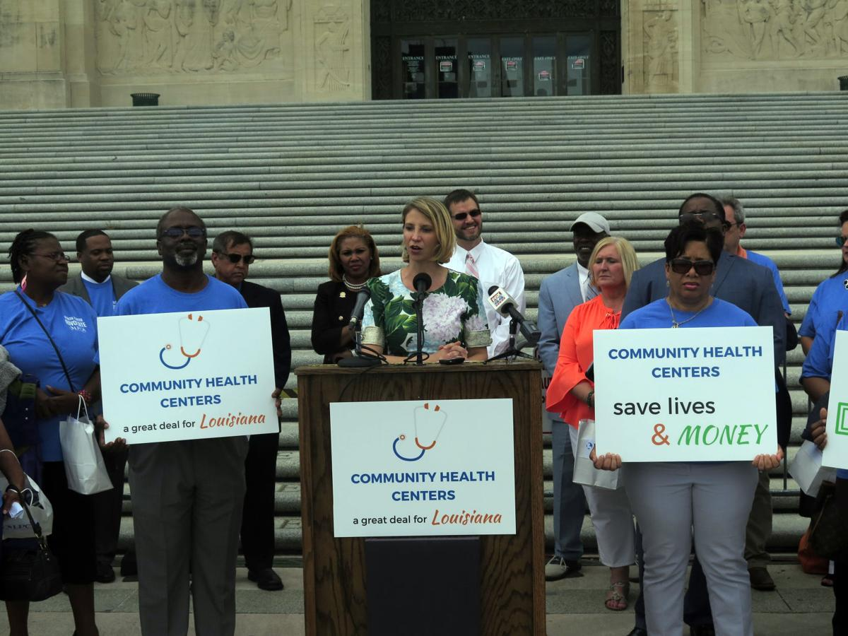 Community Health Centers rally 051717