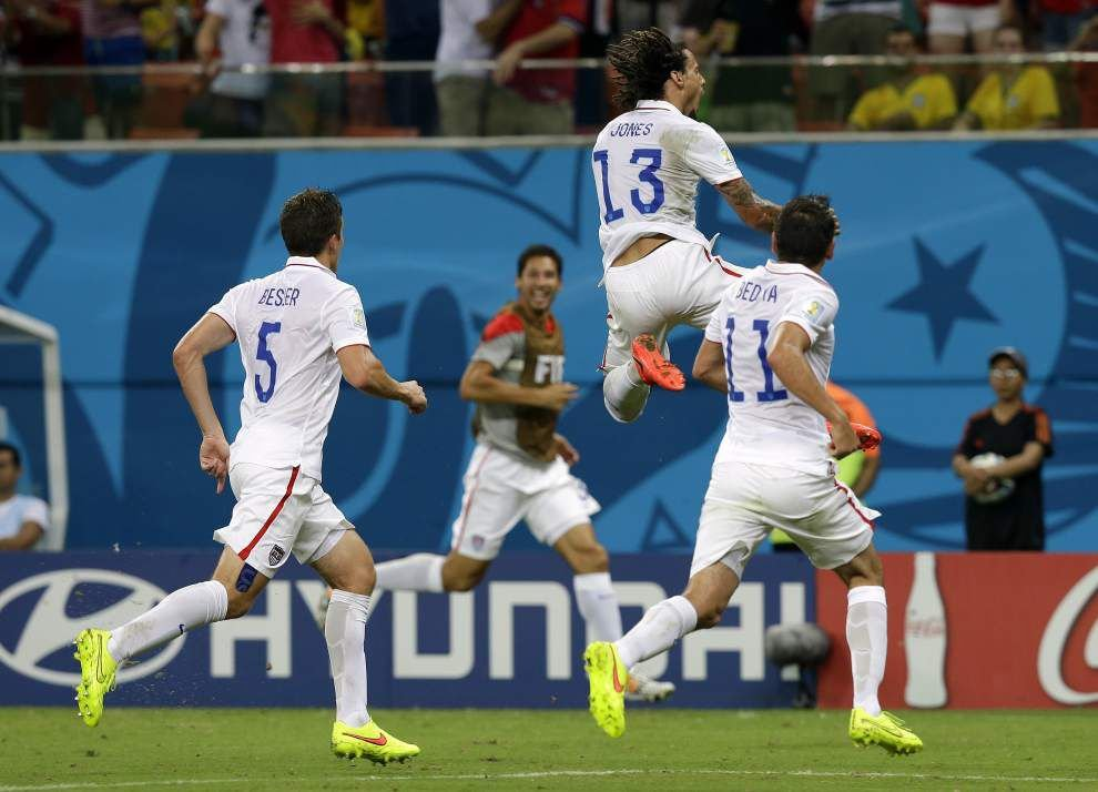 Portugal's late equalizer keeps U.S. waiting to advance _lowres