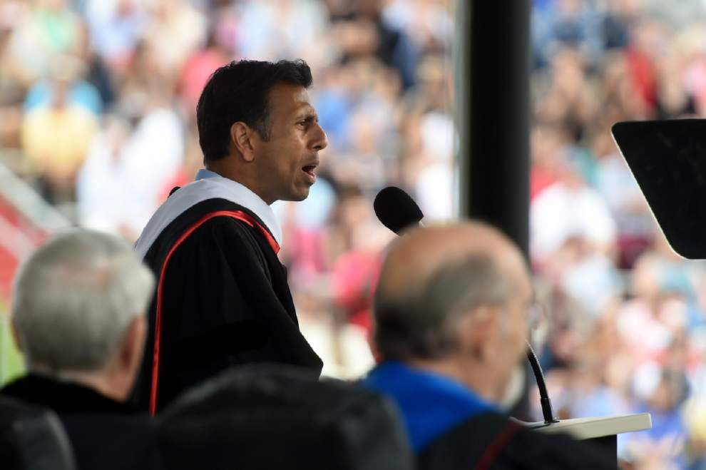 Special report: Bobby Jindal spent half of 2014 outside of Louisiana; critics: that the best use of time? _lowres