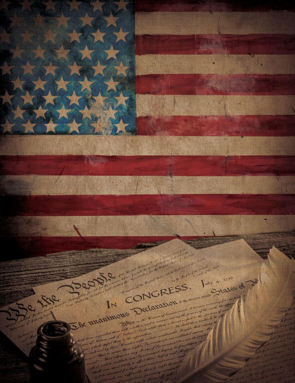 Flag & Constitution