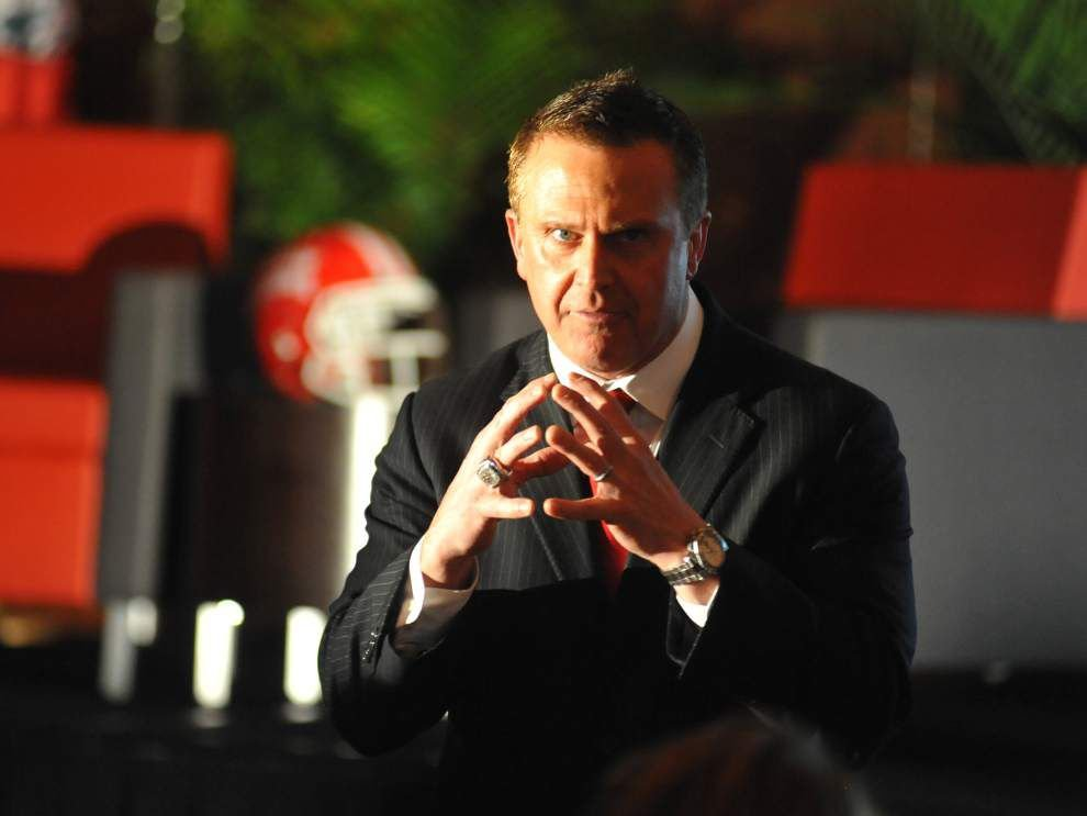 Cajuns football team goes live in spring scrimmage, and coach Mark Hudspeth said he liked what he saw _lowres