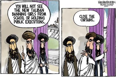 "Walt Handelsman: The ""New"" Taliban"