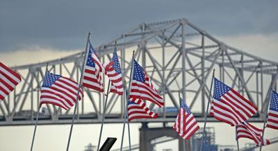 Baton Rouge American flag stock(copy)