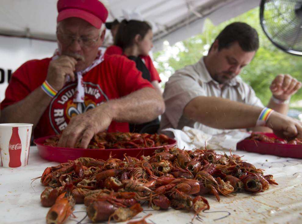 Annual Breaux Bridge crawfish festival proves a hit with visitors in seach of food, music, fun _lowres