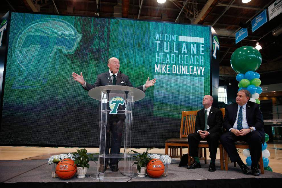 Why Mike Dunleavy Sr. coveted Tulane basketball coaching job: 'I'm looking to be a teacher of men' _lowres