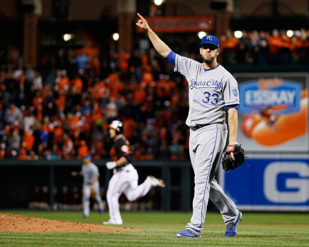 Acquisition of James Shields helped push the Royals over the top _lowres