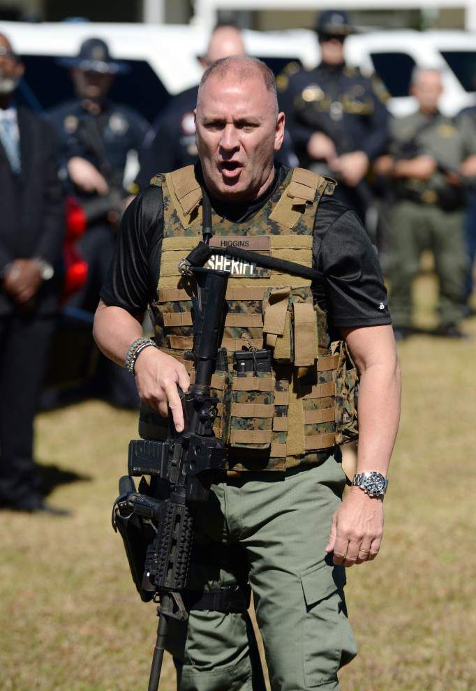 Clay Higgins, the 'Cajun John Wayne,' now a Lafayette City Marshal reserve deputy _lowres