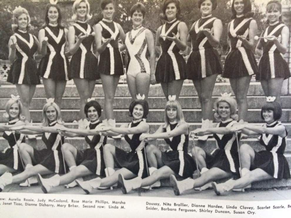 Once part of the Tiger Band, baton-twirling Tigerettes to celebrate 50th anniversary Saturday _lowres