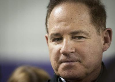 LSU's Les Miles: If we could, 'we'd hoist small caliber weapons' to prevent satellite camps in Louisiana _lowres