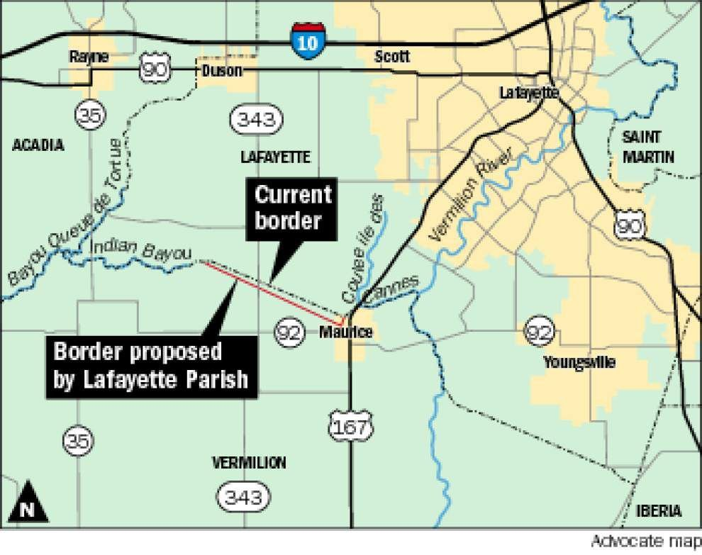 Vermilion-Lafayette boundary dispute heading to court _lowres
