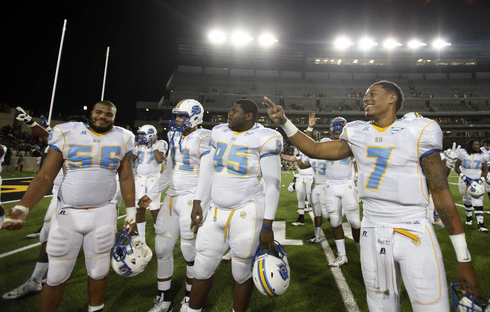 Southern 45, Alabama State 34: Les East's three and out _lowres