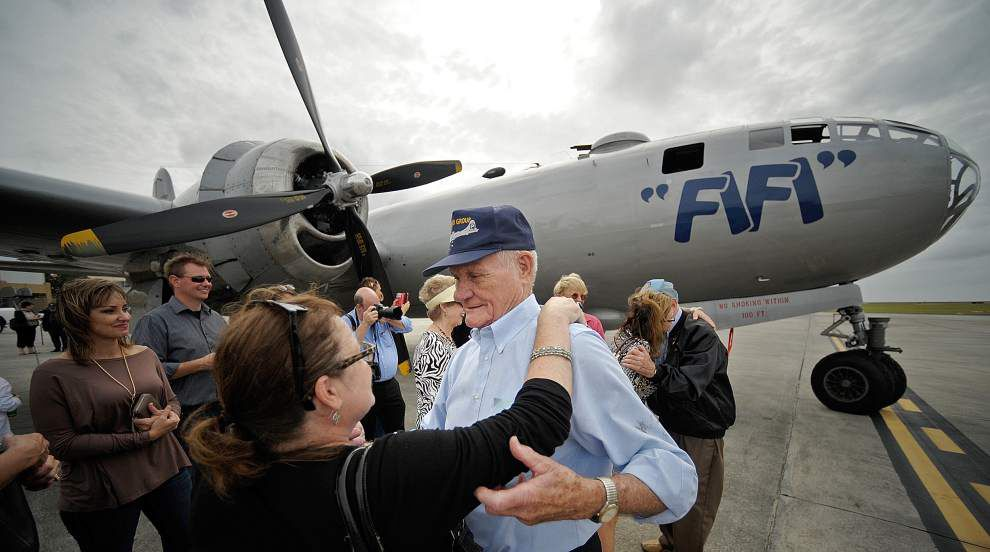 Photos: Bombers arrive in New Orleans for Air Power expo _lowres