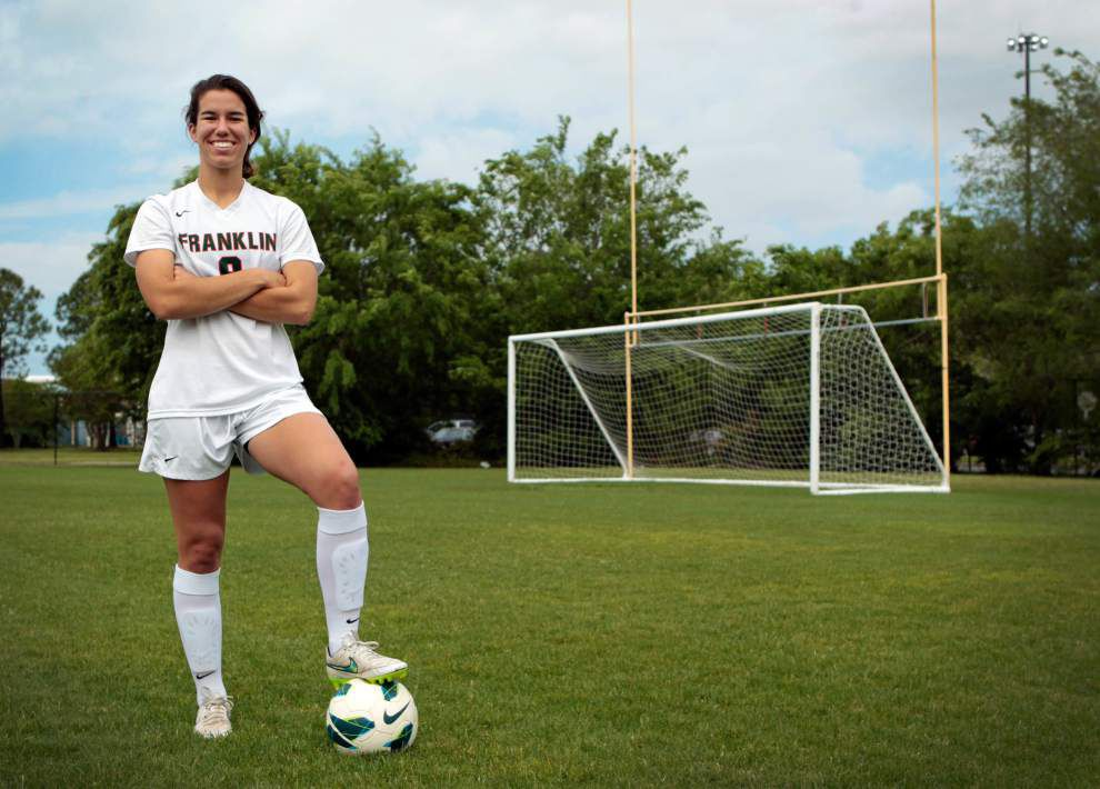Cadie Higginson adds to her résumé, named Player of the Year on New Orleans area All-Metro Girls Soccer team _lowres