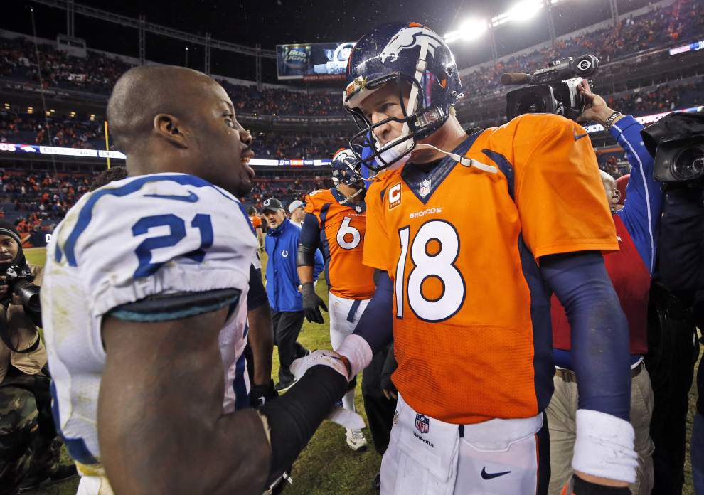 The future of Peyton Manning remains in limbo after meeting with the Broncos on Thursday _lowres