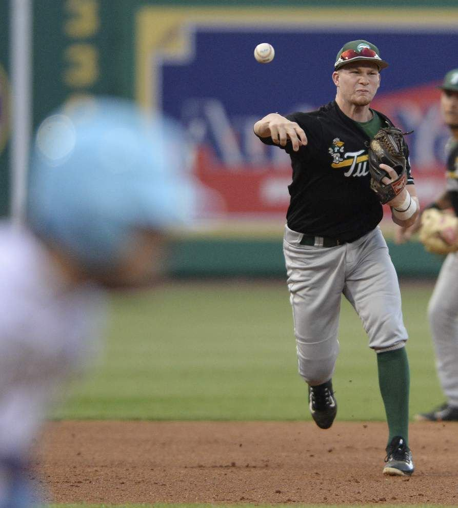 Cole McKay's wild, short start and extraordinary Tulane defense send LSU to a 7-1 loss _lowres