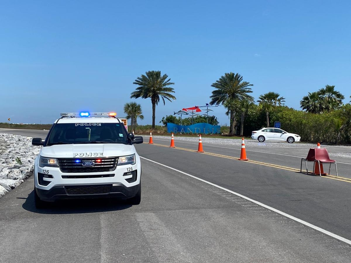 Grand Isle Checkpoint