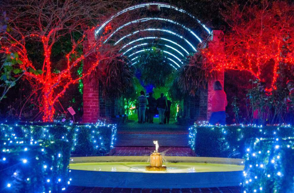 Let there be lights: Check out what's new, different at Celebration in the Oaks this holiday season _lowres