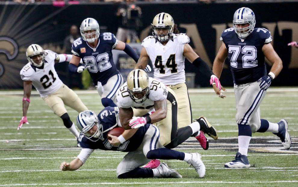 Photos: Drew Brees plays, sets touchdown milestone, Saints win first game of the season _lowres