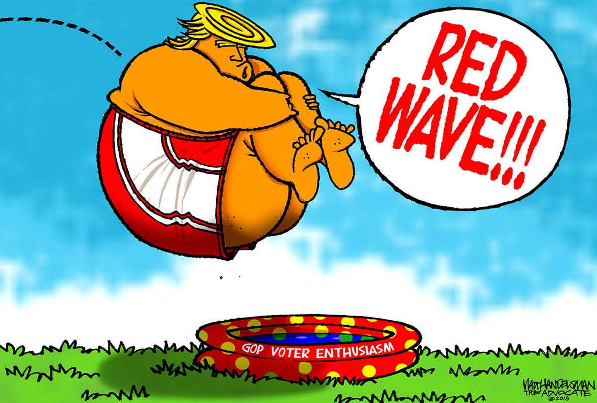 Red Wave Walt Opinion Handelsman Theadvocate com