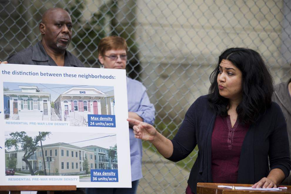 Neighbors, developer at odds over redevelopment of Morris Jeff site and the zoning ordinance that authorizes it _lowres