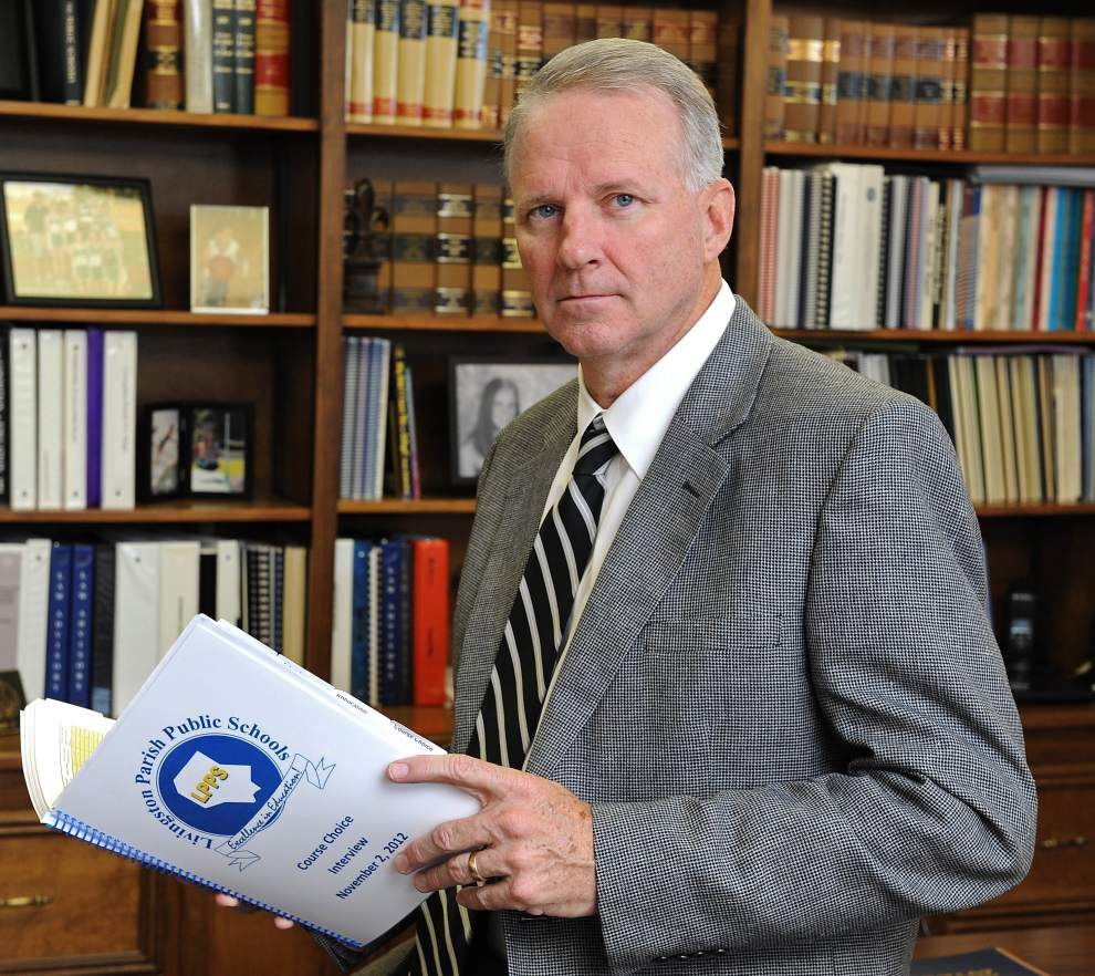 Livingston Parish school superintendent to retire in June, school board to discuss search this week _lowres