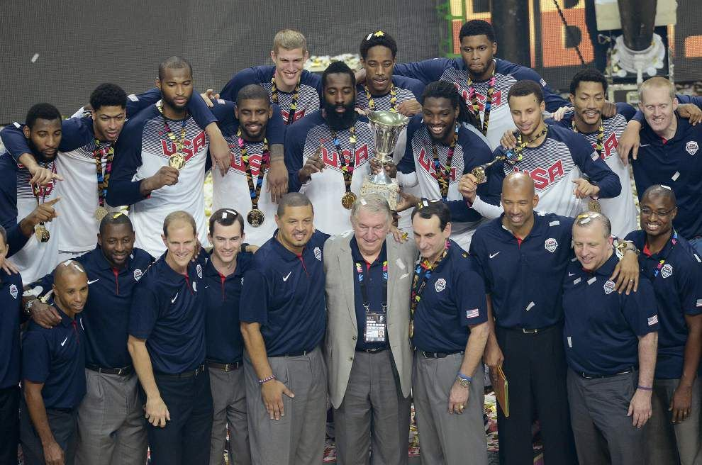 Video: Pelicans forward Anthony Davis and coach Monty Williams cherish their gold medals from Team USA _lowres