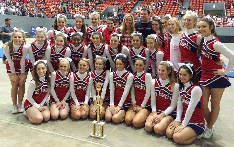 St. Joseph's cheerleaders headed to national event _lowres