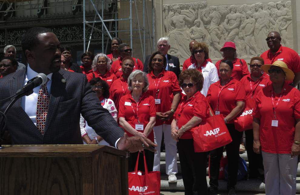 Family caregivers converge at State Capitol to rally lawmakers for more help providing dignity for the elderly _lowres