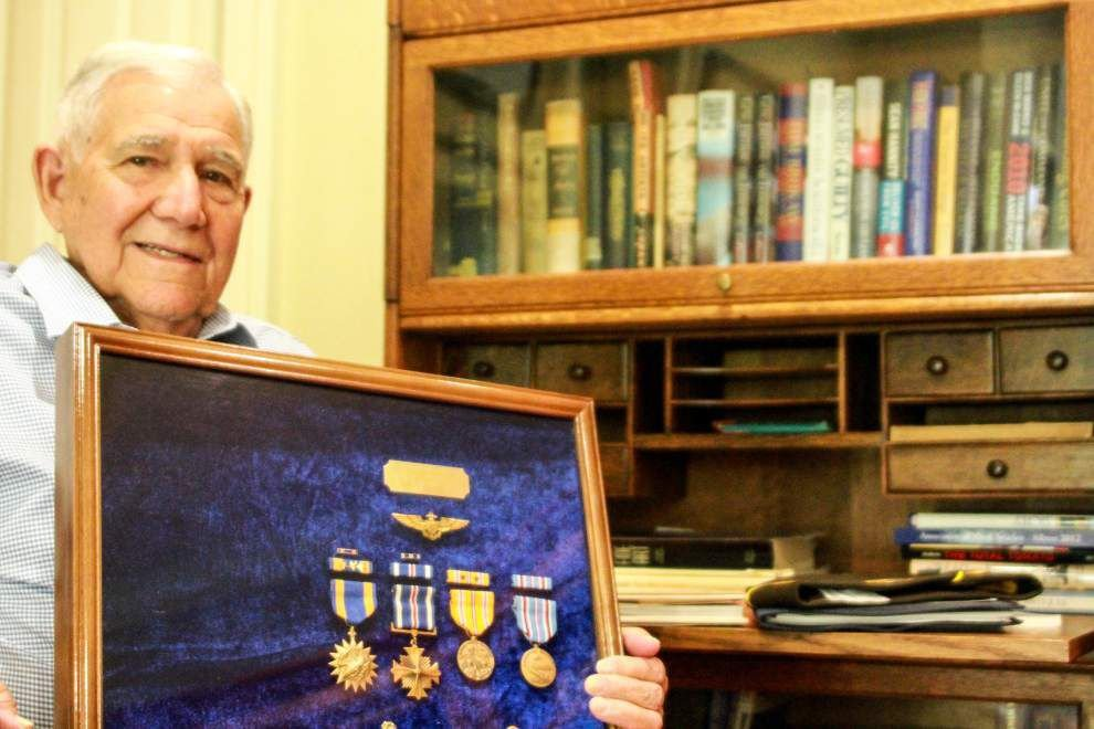 In Profile: WWII Navy pilot veteran, Salvador Perino, shares memories of serving his country _lowres